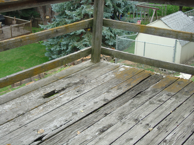 Deck Before Picture