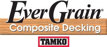 Mike jansen custom cedar decks composite cedar deck for Evergrain com