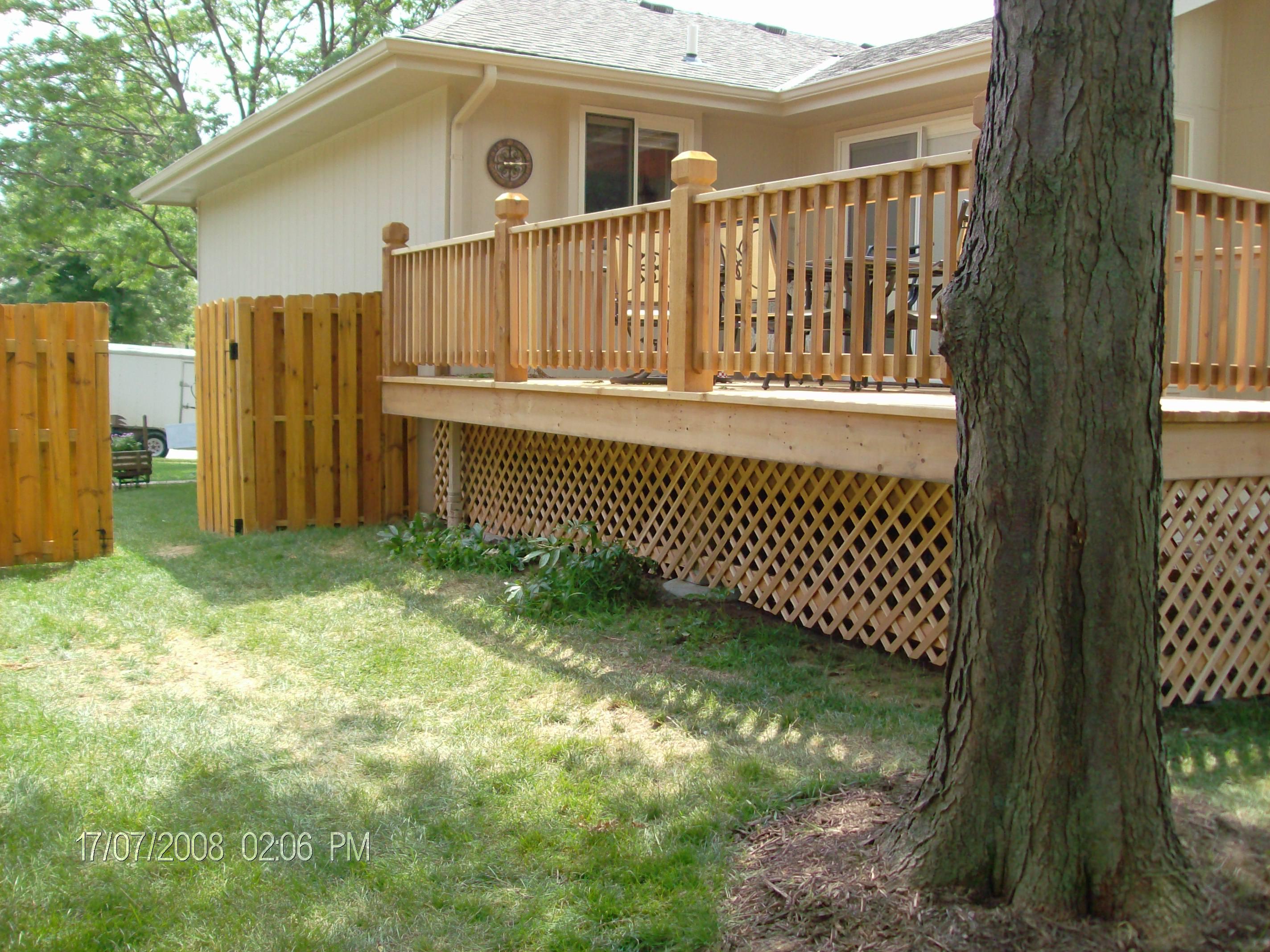 Mike Jansen Custom Cedar Decks - COMPOSITE & cedar deck