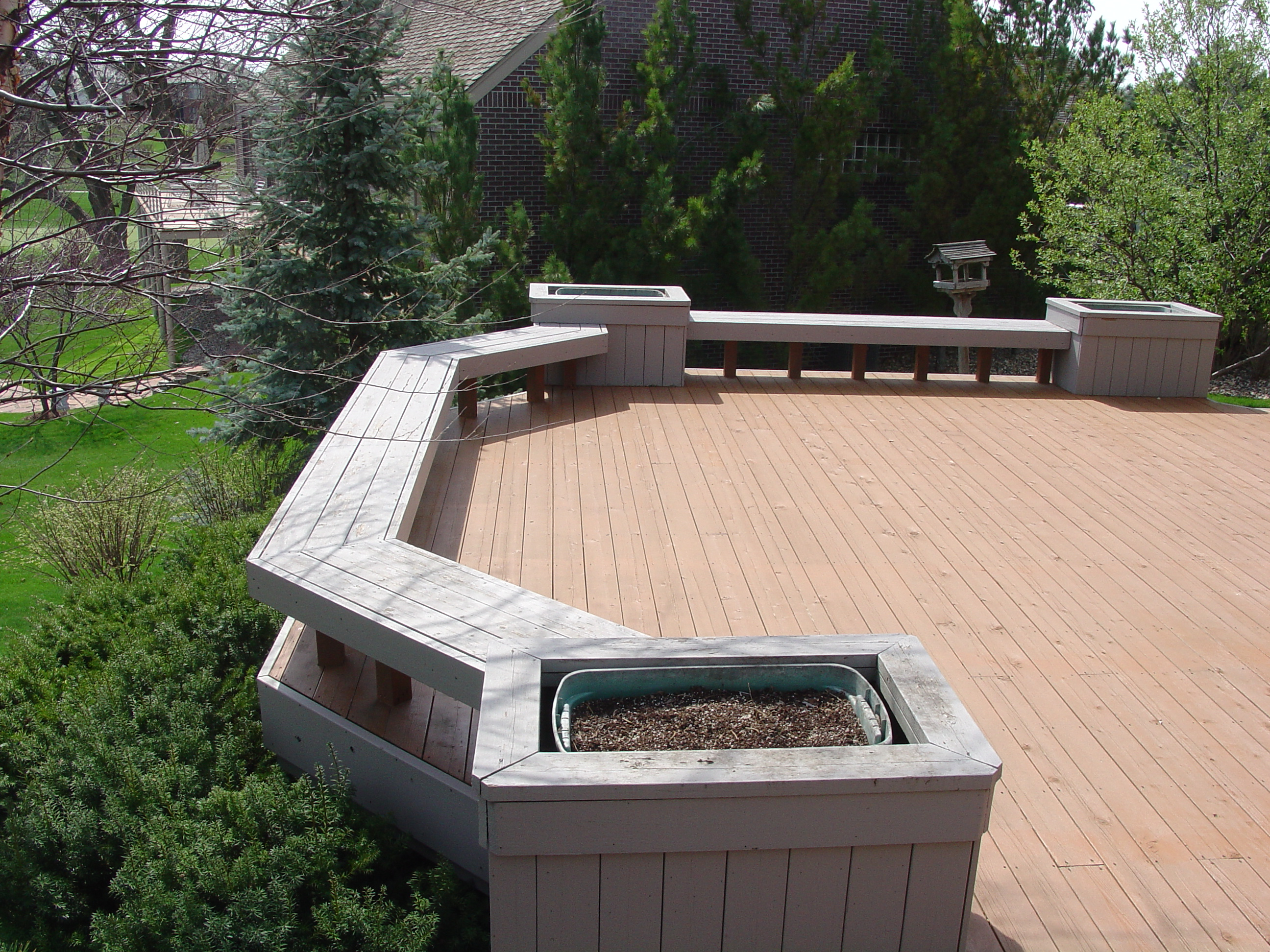 Mike Jansen Custom Cedar Decks - DECK BUILDING SERVICES